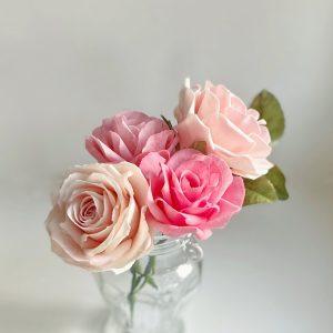 Csokoládé rózsa készítő workshop