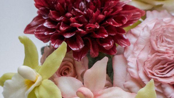 Csokoládé virág készítő workshop