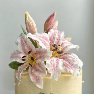 Cukorvirág liliom készítő workshop (online)